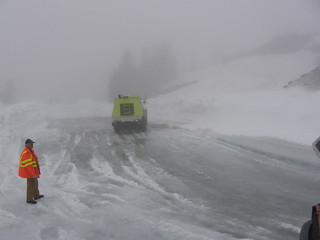 Artist Point - Working in the upper parking lot | by WSDOT