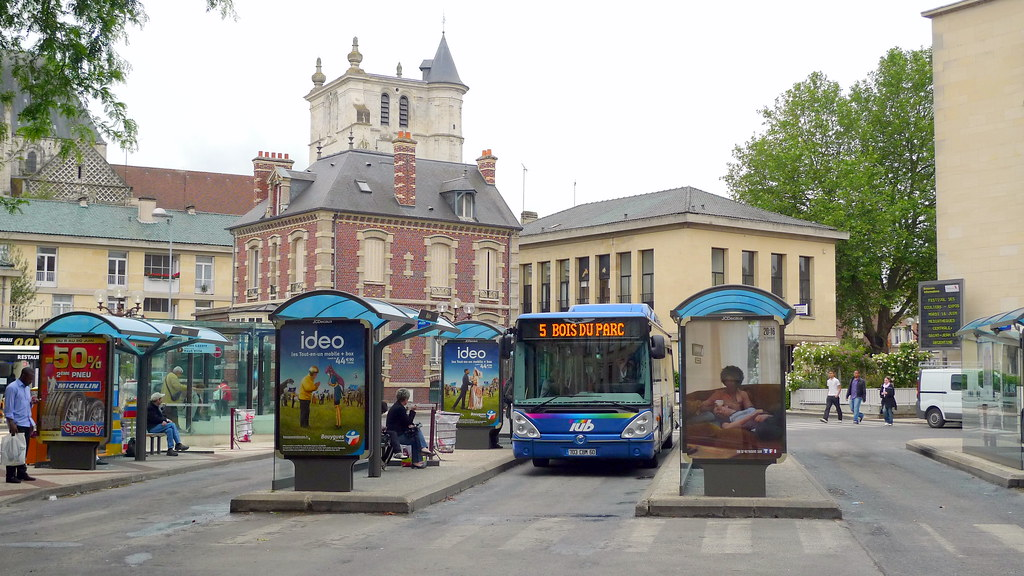 Gare routi re centre ville beauvais fr60 jean louis for Piscine beauvais