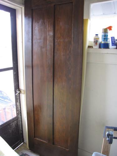 Swinging Kitchen Door With Window