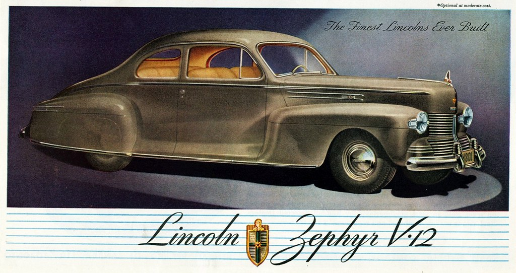 1942 Lincoln Zephyr V 12 Club Coupe Alden Jewell Flickr