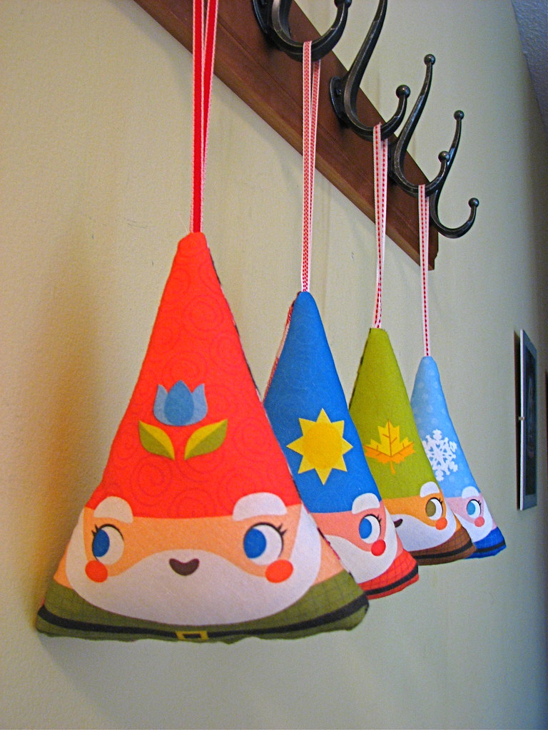 Gnome scented ornaments just the thing to hang anywhere for Top selling christmas crafts