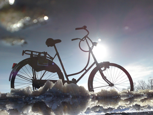 Reflections Of Amsterdam - Bikey On The Rocks | by AmsterSam - The Wicked Reflectah