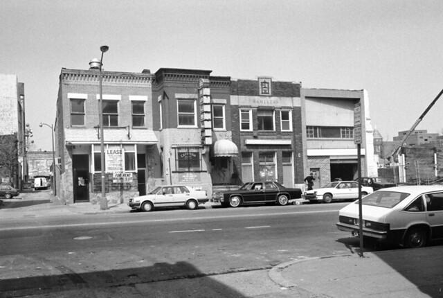North 1300 block u street u street nw washington dc old for Furniture u street dc