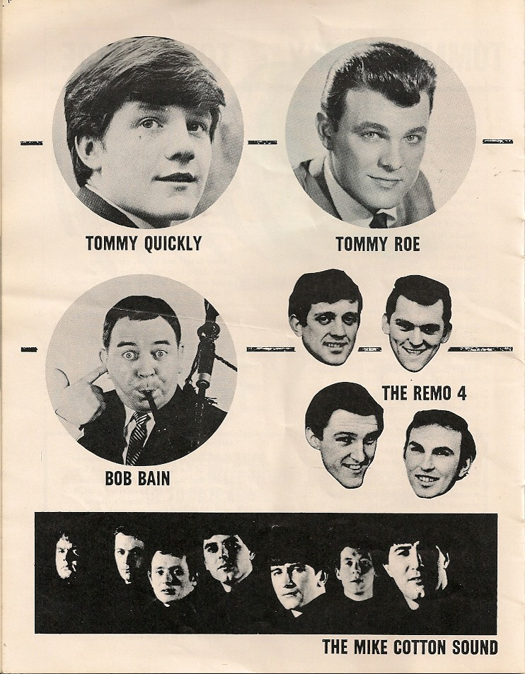 12 - tommy quickly - tommy roe - the remo four