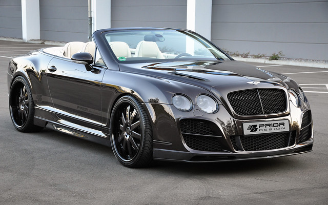 Body Kit by Prior Design for Bentley Continental GT GTC ...