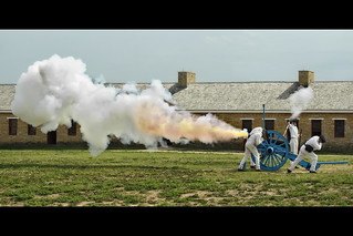 minnesota fort snelling cannon shot | by Dan Anderson.