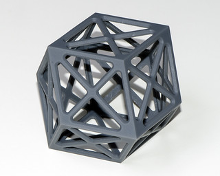 Rhombic dodecahedron small | by Chris Garrity