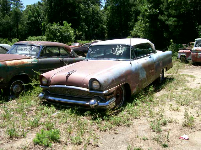 1956 Packard Clipper Used Car Lot On Hwy 53 North Of