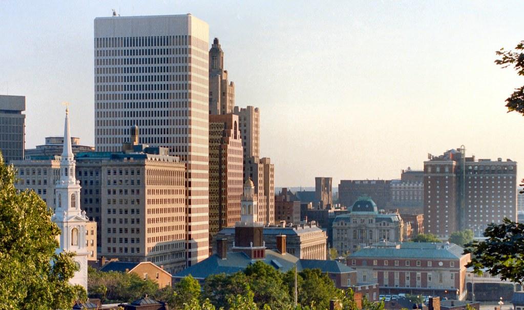 Bank Of America Charles Street Providence Rhode Island