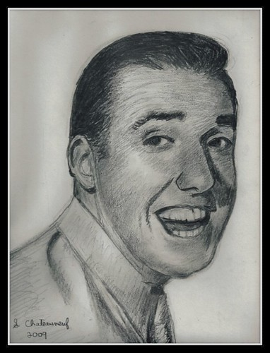 Jim Nabors (Gomer Pyle) - Pencil Drawing by STEVEN CHATEAUNEUF 2009 - Scan Of Original Drawing | by snc145