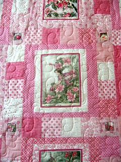 Pink Fairy Quilt | by QOB