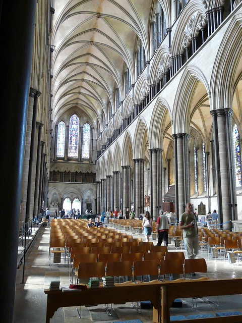 Nave in Salisbury Cathedral | Explore Mike Cattell's ...