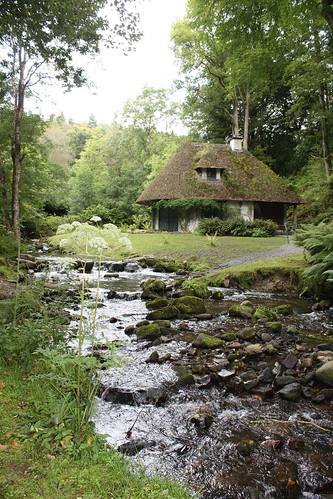 old cottage and stream | by glenclara