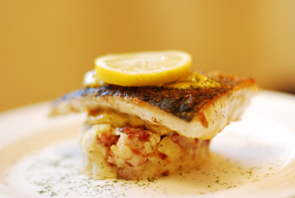 Norwegian Cod and Red Smashed Potato Cake | Farmed Organic N ...