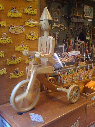 In Rome, even Pinocchio rides a bike | by carltonreid