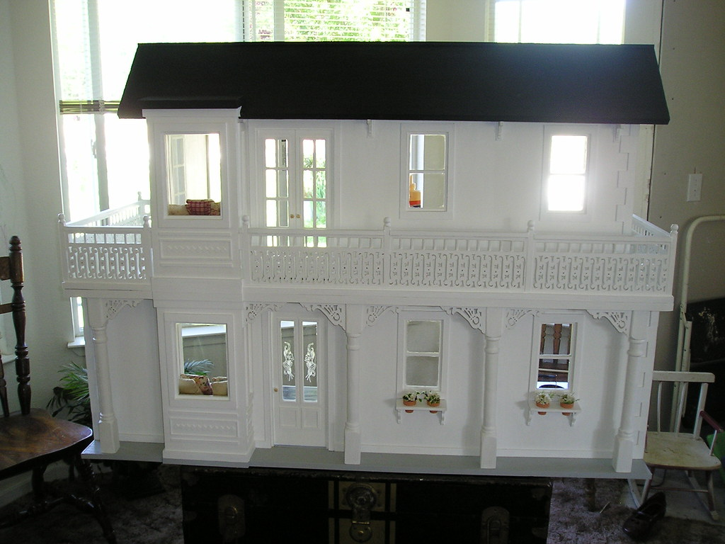 Handmade Wood Barbie Doll House Another Barbie Doll House Flickr
