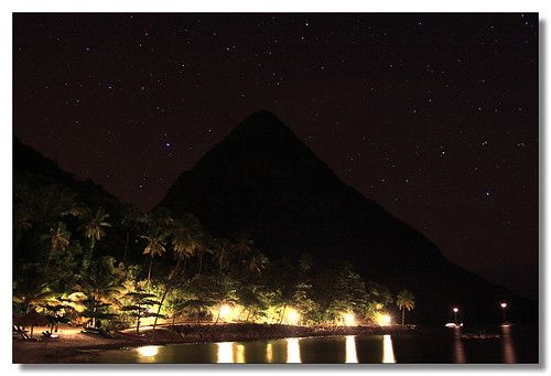 Jalousie Night, St Lucia | by 3dphoto.net