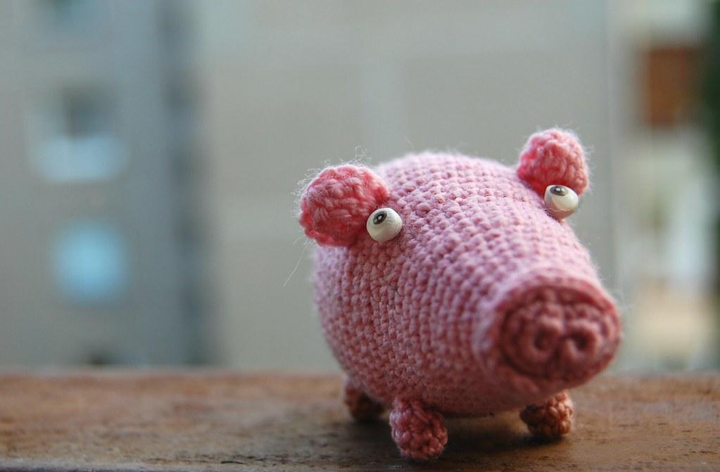 Amigurumi Pig : Crochet pig small pink creature it does not look like cutu flickr