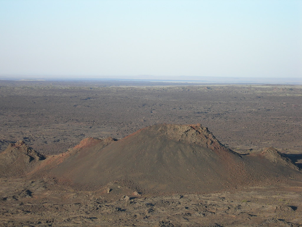 Big Cinder Butte  Seen From Atop The Inferno Cone The -7997