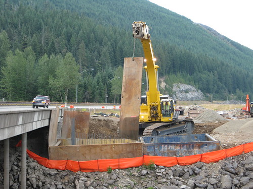 Hyak to Keechelus Dam Project - Construction begins | by WSDOT