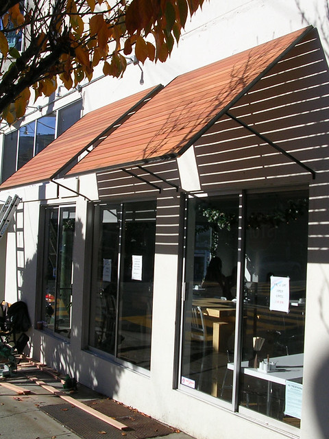 Thaihouse Express Wood Slats Awnings Over Windows Flickr