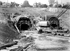 Mount Baker Tunnel under construction, 1939 | by Seattle Municipal Archives