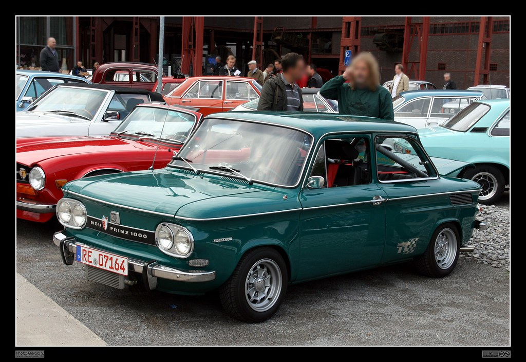 1965 Nsu Prinz 1000 Tt The Nsu Prinz Was An Automobile