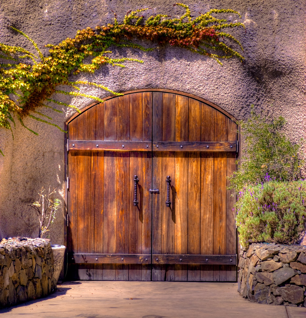... Wine Cave Doors | by Paul Gaither Photography & Wine Cave Doors | Doors to the Amizetta Winery caves on Howeu2026 | Flickr