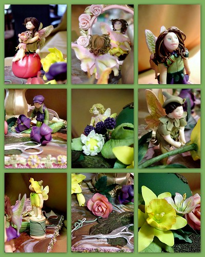 FlowerFairies inspired by Cicely Mary Barker