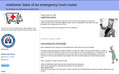 madness tales of an emergency room nurse | by Blogging Women