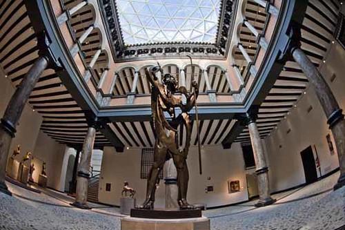 Fachada y nueva prolongación del Museo Pablo Gargallo  Flickr