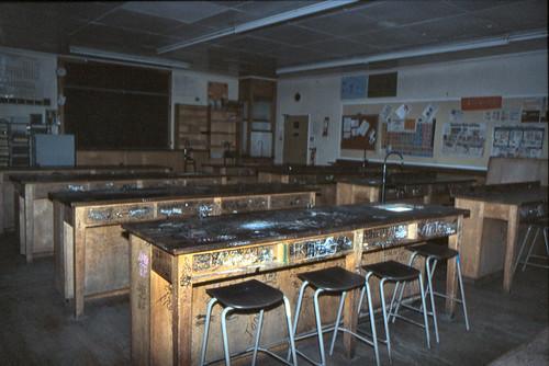 Science Lab Edlington Comprehensive School First Floor