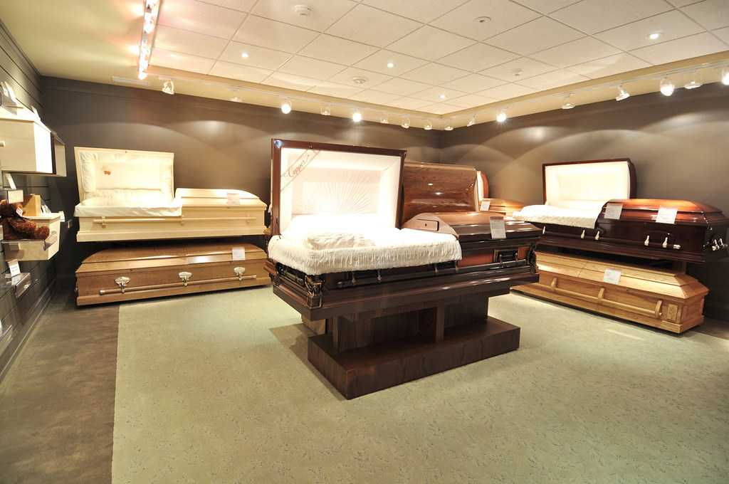 how to buy a casket at a funeral home