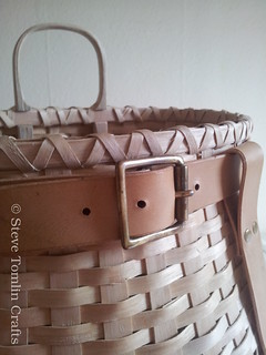 Ash splint pack basket detail