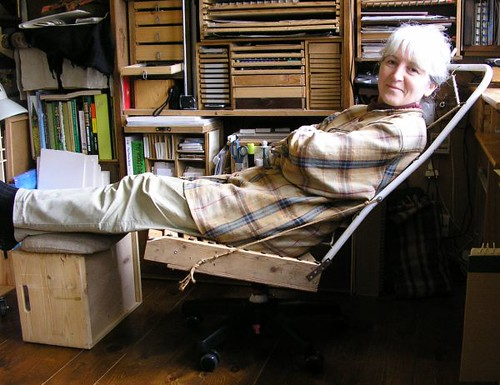 ... DIY Ergonomic Reclining Desk Chair   Bare Bones | By Judyofthewoods