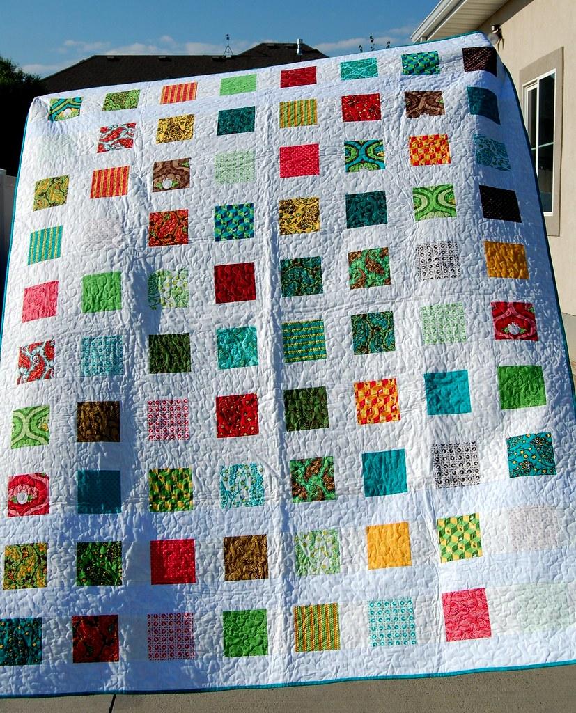 Charm Square Quilt Blogged At Crochetcami Blogspot Com