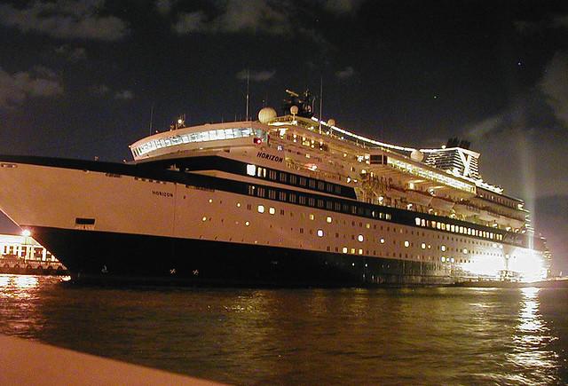 San Juan M V Horizon Our Celebrity Cruise Ship The