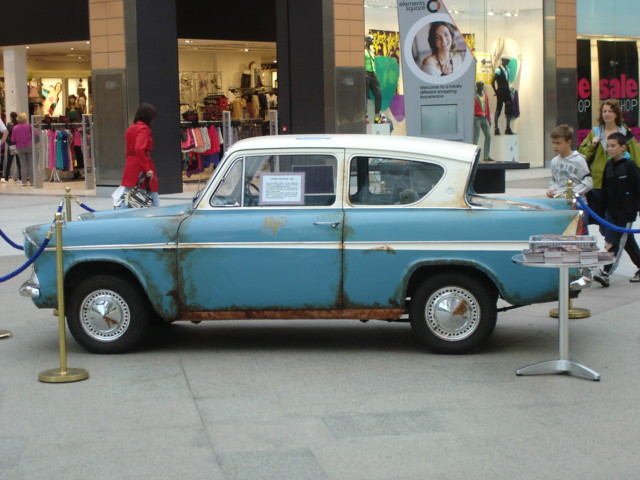 Car Used In Harry Potter