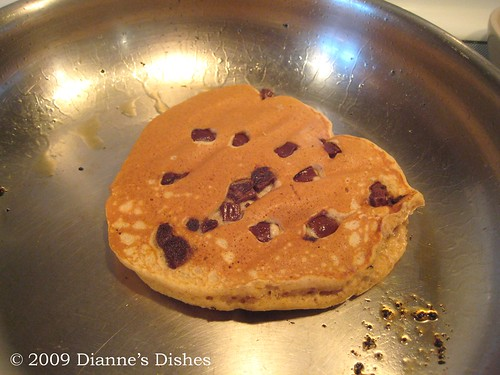 Pumpkin Chocolate Chunk Pancakes: Flipped | by Dianne's Dishes