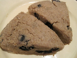 Blueberry Cinnamon Scones - Vegan & Gluten-Free | by Krunsdogs
