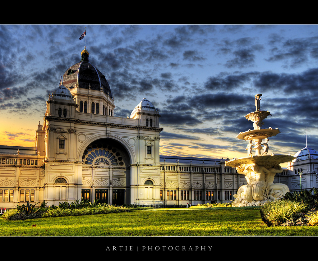 3d Exhibition Melbourne : The royal exhibition building melbourne iii hdr flickr