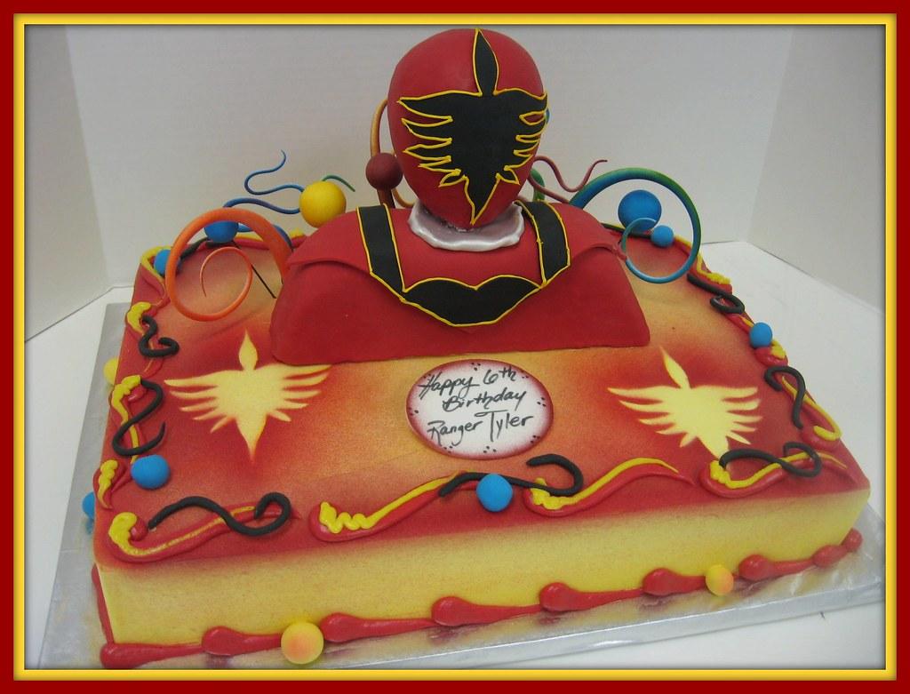Astounding 79803 1 4 Sheet Power Rangers Super Mega Force Image Photo Cake Funny Birthday Cards Online Inifodamsfinfo