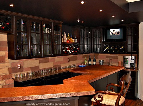 A a design build remodeling finish flickr - Coolest home bars ...