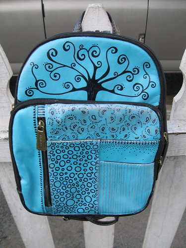 Painted Backpack | by pennylrichardsca (now at ipernity)