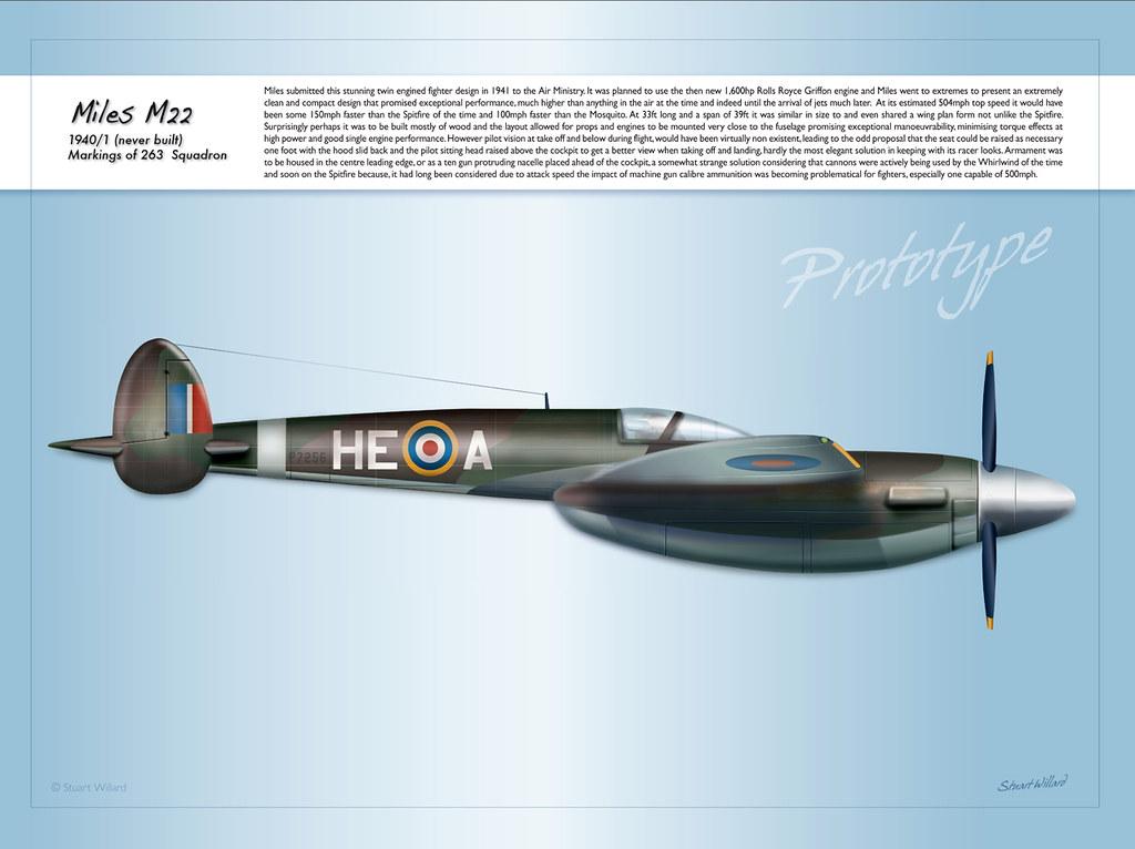 Top Secret Aircraft Miles M22 Fighter 1941 A Top Secret F Flickr