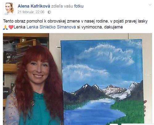 sibírske cédre pre Alena Kafríková