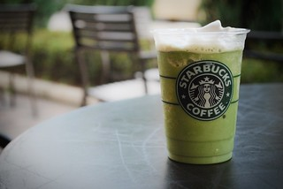 Powdered Green Tea Frappuccino | by musicsideyourlife