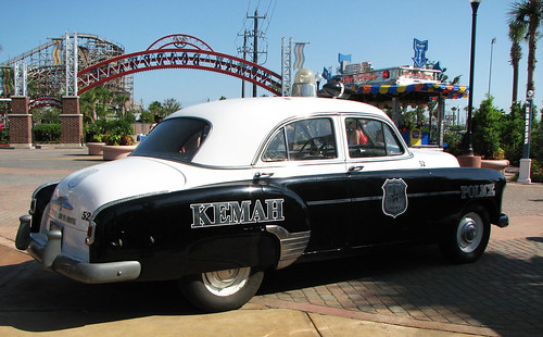 Old-Fashioned Police Car | by Toria Clark