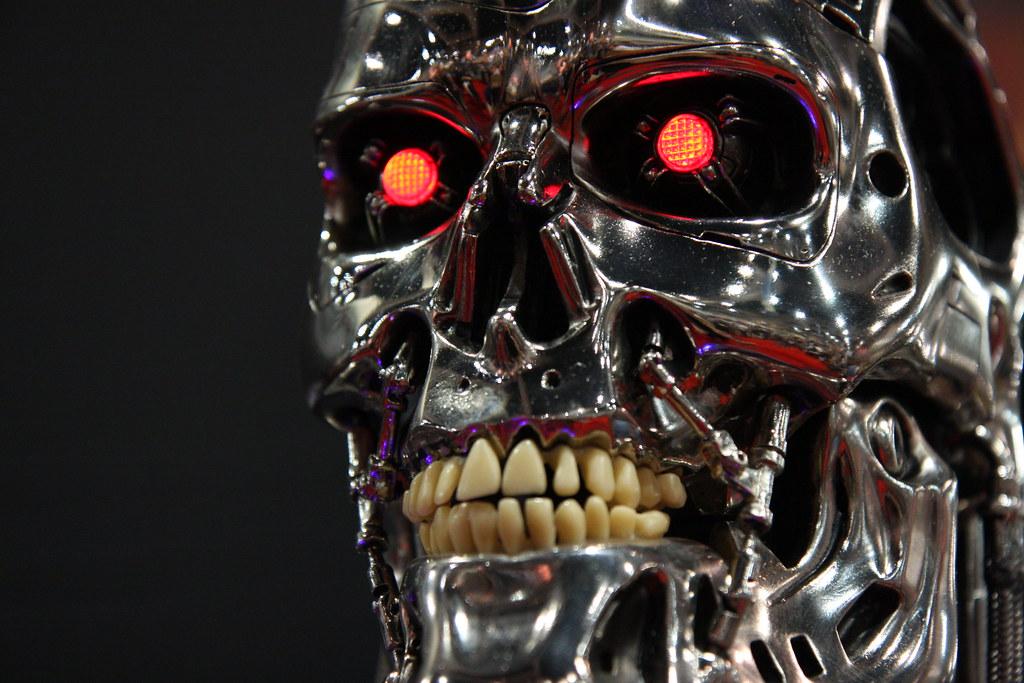 machine faces