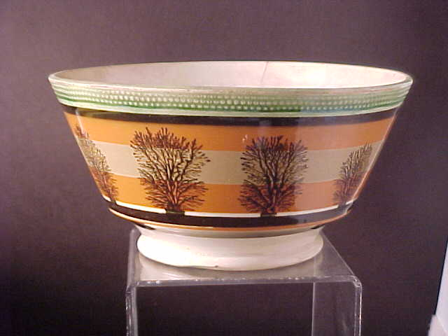 mochaware bowl from 1820